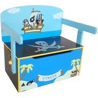 Style - Mobilier 2 in 1 pentru depozitare jucarii Pirate, Blue