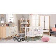 Klups - Mobilier camera copii si bebelusi Sofie, Alb/Natur