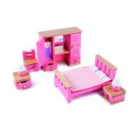 Tidlo - Mobilier dormitor pentru casuta papusii