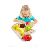 Molto - Set de joaca Fructe pe platou 9 piese
