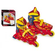 Mondo - Role copii 4 roti in linie Cars 3 reglabile marimi 33-36