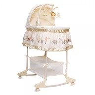 MONI Leagan cu landou 3 in 1 Moni Bassinet Nap Beige