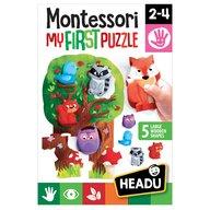 Headu - Montessori Primul meu puzzle Padure