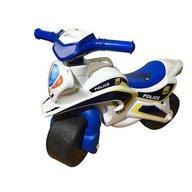 MyKids - Motocicleta de impins Police Music 0139/51, Alb/Albastru