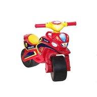 MyKids - Motocicleta de impins Police Music 0139/56, Rosu/Galben