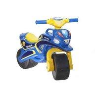MyKids - Motocicleta de impins Police Music 0139/57, Albastru/Galben