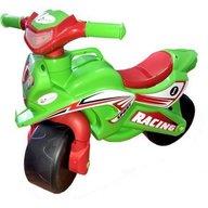 MyKids - Motocicleta de impins Racing 0139/5, Verde/Rosu