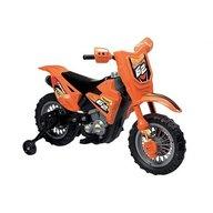 Globo - Motocicleta electrica pentru copii Enduro Motocross 6V, cu telecomanda control parinte, Portocaliu