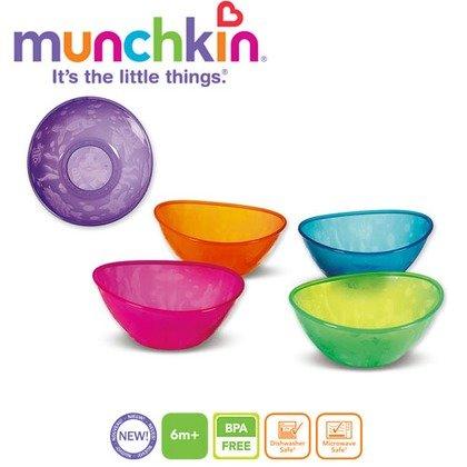 Munchkin  Set 5 boluri multicolore