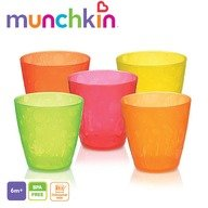 Munchkin Set 5 pahare colorate