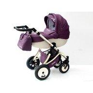 MyKids Carucior Pentru Copii 3 In 1 Mykids Amber Purple-White