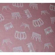 MyKids - Lenjerie  Crowns 4+1 Piese 120x60, Pink