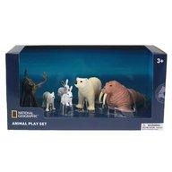 National Geographic - Set 6 figurine - Animalute polare
