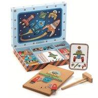 Djeco - Nave spatiale de asamblat Tap Tap