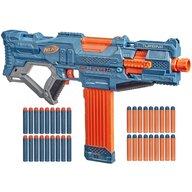 Hasbro - Arma de jucarie Nerf Blaster Elite 2.0 Turbine CS-18, Albastru