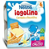 Nestle - Gustare Baby Iogolino, cereale si vanilie, 4x100g