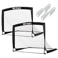 Net Playz - Set 2 porti de fotbal pliabile 125x90x90 cm