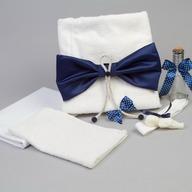 Nikos Collection - Trusou botez funda, Bleumarin