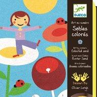 Djeco - Nisip colorat Gradina