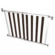 Noma - Poarta de siguranta extensibila din aluminiu si lemn Ikon Noir, 62-104 cm