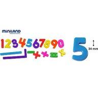 Miniland Numere magnetice Miniland 162 buc