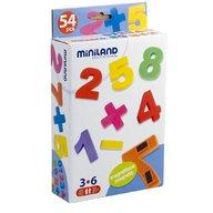 Miniland Numere magnetice Miniland 54 buc