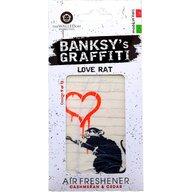 Banksy - Odorizant auto Love Rat  UB27009