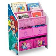Delta Children - Organizator carti si jucarii cu cadru din lemn Disney Princess