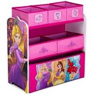 Delta Children - Organizator jucarii cu cadru din lemn Disney Princess