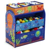 Delta Children - Organizator jucarii cu cadru din lemn Ocean