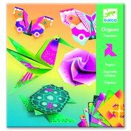 Djeco - Origami Animale si flori exotice