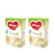Milupa - Pachet 2 x Cereale BIO fara lapte, 7 Cereale, 250g, 6luni+