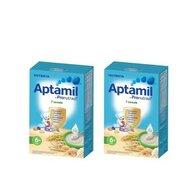 Nutricia - Pachet 2 x Cereale fara lapte Aptamil 7 Cereale, 250g, 6luni+