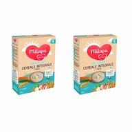 Milupa - Cereale Vise Placute , 2 buc, cu Cu mar, Cu cereale integrale