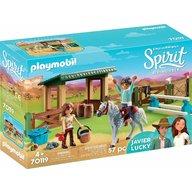Playmobil - Padoc cu magazie pentru cai