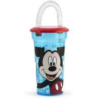 Pahar cu pai Mickey 400ml Lulabi 8323400