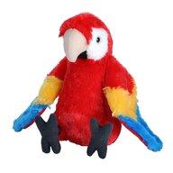 WILD REPUBLIC - Jucarie din plus Papagal Macaw Stacojiu , 20 cm