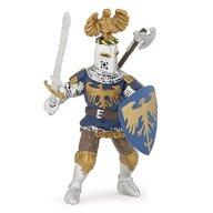 Papo - Figurina Cavaler albastru cu creasta