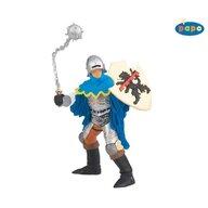 Papo - Figurina cavaler cu ghioaga (albastru)