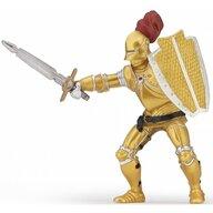 Papo - Figurina Cavaler in armura aurie
