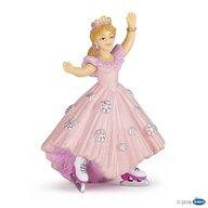 Papo - Figurina Printesa roz cu patine