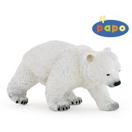 Papo - Figurina Ursulet polar mergand