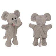 Goki - Papusa de mana Elefant