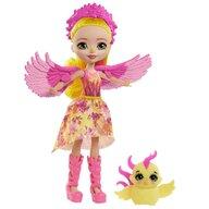 Enchantimals - Papusa Falon Phoenix Cu figurina Sunrise by Mattel