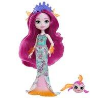Enchantimals - Papusa Maura Mermaid Cu figurina Glide by Mattel