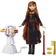 Hasbro - Papusa Anna , Disney Frozen 2 , Cu par lung pentru impletit, Multicolor