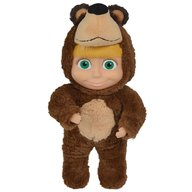 Simba - Papusa Masha and the Bear 2 in 1 Masha 25 cm in costum de urs