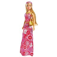 Simba - Papusa  Steffi Love Flower Party 29 cm roz