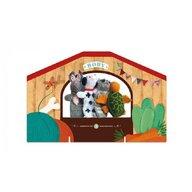 Londji - Set papusi Animale , Tricotate, Pentru teatru cu papusi
