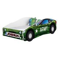 MyKids - Pat tineret Race Car 07 Army , 160x80 cm